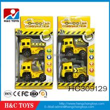 Kids cheap plastic toy trucks,mini pull back truck toy for kids for sale HC309129
