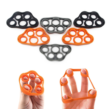 New Silicone Hand Exerciser Grip Finger / Resistance Bands Finger Stretcher for Wrist Exercise Finger Trainer