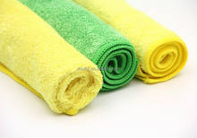 super microfiber cleaning cloth in roll for glasses and cars