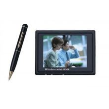 "2.4GHz Wireless Hidden Camera Pen with DVR + Wireless Mini 3.5"" LCD DVR,30fps"