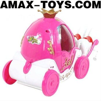 EO-1191088 Toys carriage Cartoon music toys carriage with flashing lights (can blow bubbles)