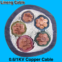Hebei Lineng 0.6/1kv 70mm PVC Copper Power Cable