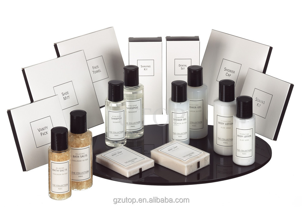 Hotel amenities manufacturing company for hotel welcome kit