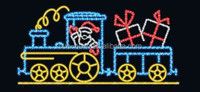 2015 New Product Outdoor 2d Motif Train Light Christmas Decoration Rope Light