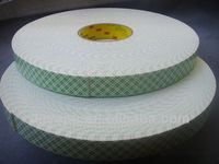 3M Urethane Adhesive Acrylic Tape Single Sided Foam Tape 4116 Natural 152mm x 36 yd 62.0 mil,