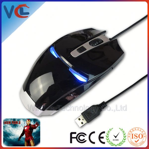 computer game mouse standard size mouse normal size gaming mouse with ISO 9001 certificate