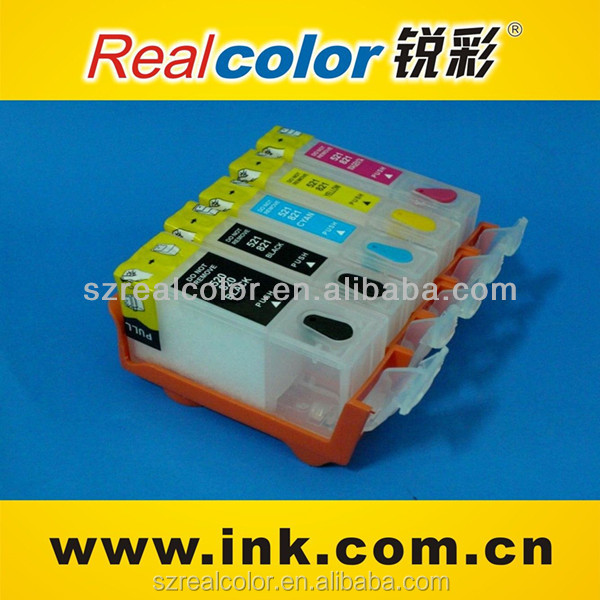 PGI-725 CLI-726 refill ink cartridge for ix6560