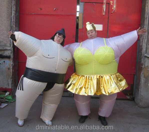 Kids and Adult Fat Suit for Inflatables