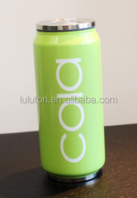 Insulated Stainless Steel Water Bottle Coke Design for Kids 330ml