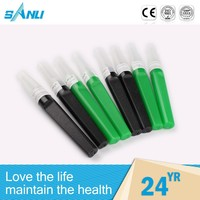 Automatic various color blood collection puncture needle