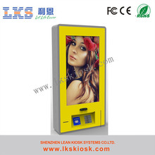 Best Selling Internet Information Touch Screen Kiosk All In One Plastic Floor Pedestal
