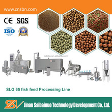 With CE,SGS Certificate Pet Food Processing Line /Floating Fish Feed Pellet Extruder
