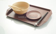 standard eco-friendly restaurant plastic dinnerware set manufacture in China factory