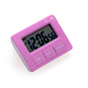 Cheap kitchen gadget plastic 2 minute timer/small electronic alarm clock timer
