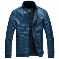 Leather Jacket Blazer Coats For Men Custom Made