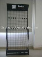 Wire mesh retail display stand, tea bag display rack, wire racks for hanging items
