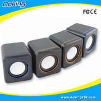 Popular 2.0 portable computer mini speaker