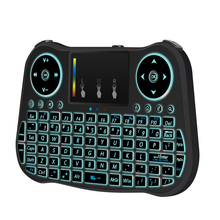 Owl Style 90 keys 2.4G Color Backlight Silicone Wireless Keyboard for Window / MAC OS / Linux / Android