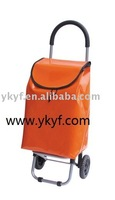 Foldable shining pvc Shopping Trolley Bag
