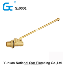 China factory direct brass floating ball valve water tank floating valve