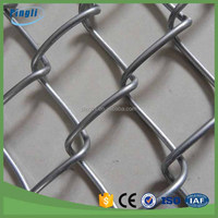 Factory outlets galvanized chain link fence PVC chain link fence wholesale cheap high quality river