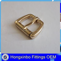 Hongxinbo metal factory high quality zinc alloy roller belt buckle strap roller buckle