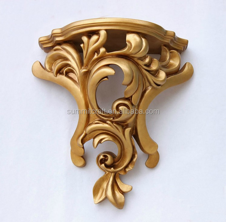 Custom resin classic golden corbels