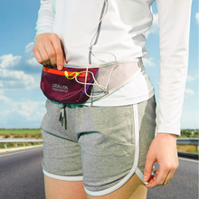 three Pockets Elastic Lycra Running Belt Reflective Waist Bag Waterproof Sport Waist Pack Fitness Belt