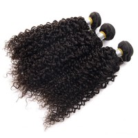 "Virgin indian hair afro kinky human hair 12"" at factory price"