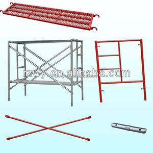 Steel A Frame System Scaffolding with Catwalk Board/Lock Pin/Cross Brace