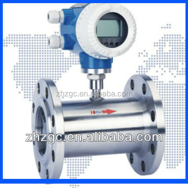 AXLWGY compressed air turbine flowmeter liquid turbine flow meter