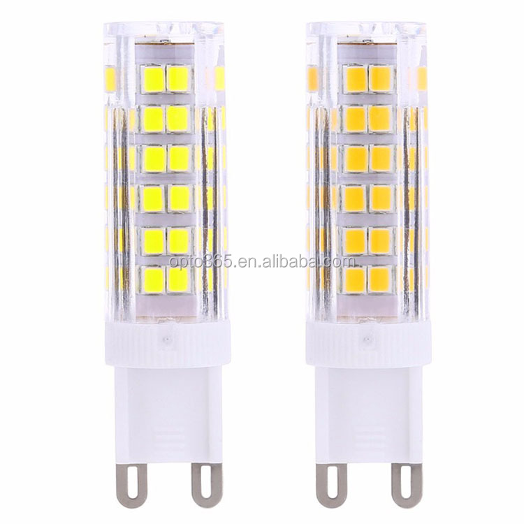 5W G9 6W 75SMD 2835 Cool White LED Boat Spot Ceramic Bulbs AC 220V Lamp RA 80