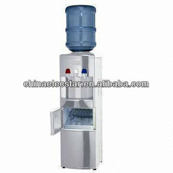Multi-Function Ice maker with water dispenser,capacity 12kg and conforms to CE/CB/RoHS/ETL/CETL