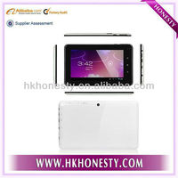 2012 New style LCD screen 7inch dual camera MID tablet android 4