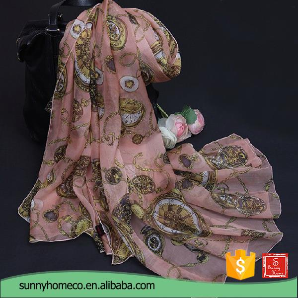 Alibaba supplier digital printing online shopping chinese silk scarf