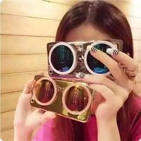 Trending hot product Fashion colorful sunglass mobile phone pc case for iphone 6s plus
