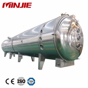 Vacuum Band Dryer for Malt Extract Low Temperature continuous Dryer