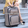 2013 new design trolley PU travel luggage