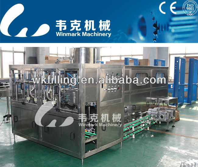 Mineral water bottle filling complete line,5 gallon water production line