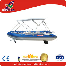 aluminum jon boat inflatable boat with a canopy with a cover for sale