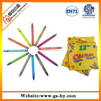 Safety material high quality wax crayons comply to ASTM