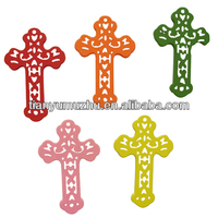 New design decorative wooden cross from China