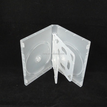 20MM 6 Discs Frosty Clear Thick DVD Case With 2 trays