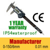"0-150mm 6"" electronic digital caliper digital vernier caliper price electronic digital caliper stainless hardened"