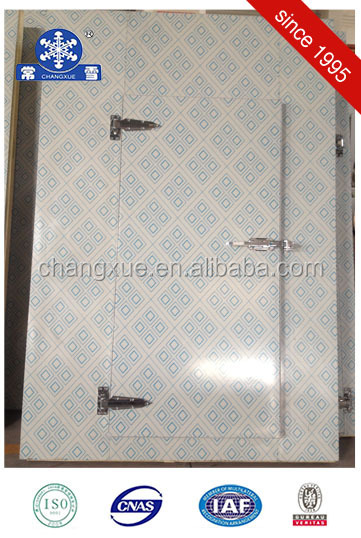 Manual cold storage door