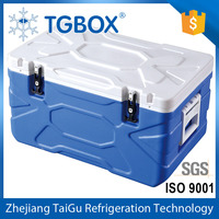 55L Plastic Portable Cooler Box Insulate