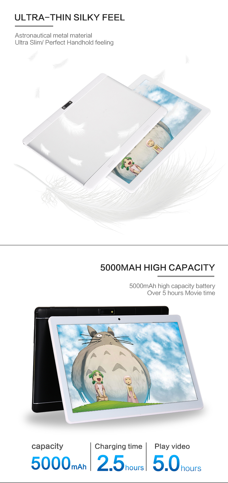 Sc7731 Tablet China Manufacturer Free Sample With Metal Shell 7/8/10 Inch Android 6.0 Tablet Pc