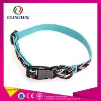 Popular Design Promotional Gifts Cat Safety Dog Cotton Collar Buckle