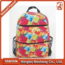 Chinese school bag waterproof big book bags school library bags