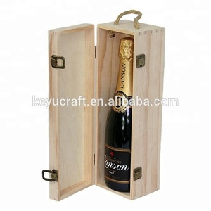 Custom Wood Wine Box Wooden Wine Bottle Box Wine case